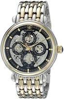 Thomas Earnshaw Men's ES-8043-44 Grand Calendar Analog Display Automatic Self Wind Two Tone Watch