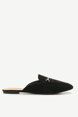 Ardene Embroidered Mules