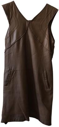 Bel Air Camel Leather Dresses