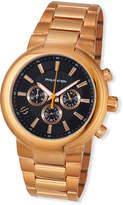 Philip Stein Teslar 44mm Chronograph Bracelet Watch, Rose Gold