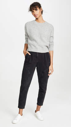 Vince Double Seam Cashmere Sweater