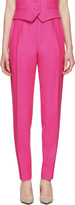 Pallas Pink Wool Hypnos Trousers