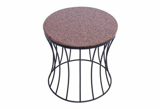 Gracie Oaks Bellamy Contemporary Style Iron End Table