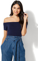 New York & Co. Off-The-Shoulder Bodysuit