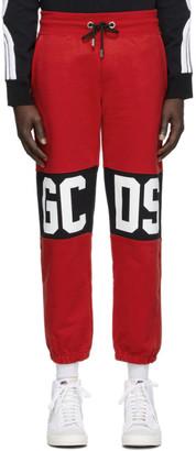 GCDS Red Band Logo Lounge Pants