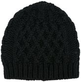 Maison Margiela cable knit hat