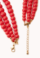 Forever 21 Candy-Coated Bead Necklace