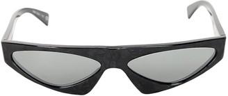 Alain Mikli & Alexandre Vauthier Josseline Asymmetric Acetate Sunglasses