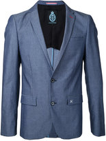 GUILD PRIME dots print blazer - men - Cotton - 1