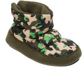 Dearfoams Dearfoam Camo Bootie Slippers - Boys