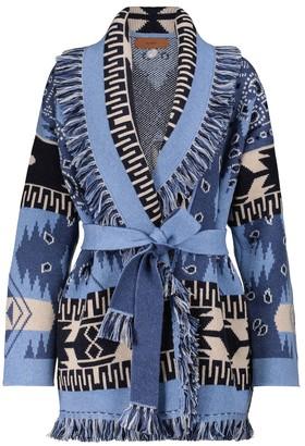 Alanui Dream Big Icon cashmere and wool cardigan