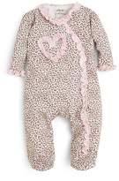 Little Me Girls' Leopard Print Footie - Baby