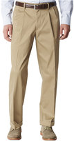 Dockers Relaxed Fit Iron Free Khaki Pants - Pleated D4