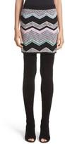 Missoni Women's Zigzag Jacquard Knit Miniskirt