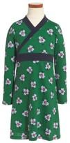 Tea Collection Toddler Girl's Kelvingrove Wrap Neck Dress