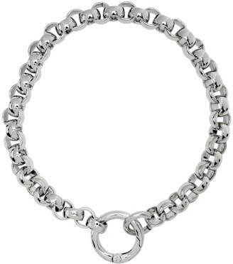 Laura Lombardi SSENSE Exclusive Silver Rolo Collar