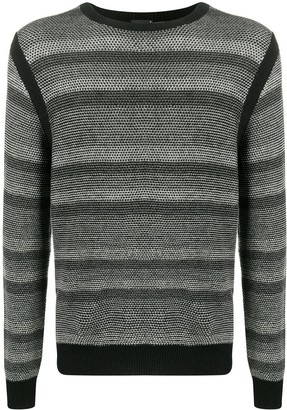 Paul Smith Knitted Striped Jumper