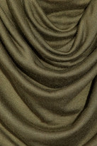 Cut25 Draped modal mini dress