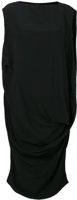 Rick Owens loose fit sleeveless dress