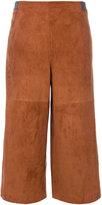 Fabiana Filippi high waisted cropped trousers