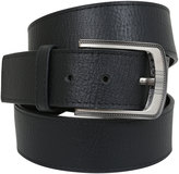 Yours Clothing D555 King Size Wide Black Bonded Leather Belt