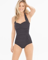 Soma Intimates Pin Point Spellbound One Piece Swimsuit