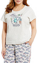 Sleep Sense Plus Life is Better in the Garden Jersey Sleep Top