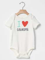 Gap Grandparent love bodysuit