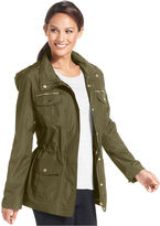 Style&Co. Sport Jacket, Roll-Tab Hooded Anorak