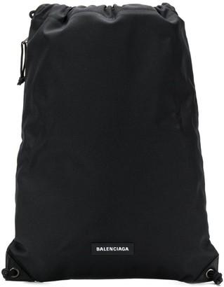 Balenciaga Explorer drawstring bag