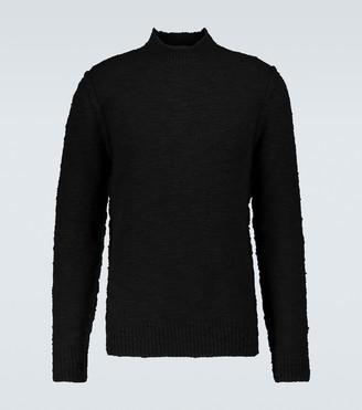 Dolce & Gabbana Wool-blend mock neck sweater