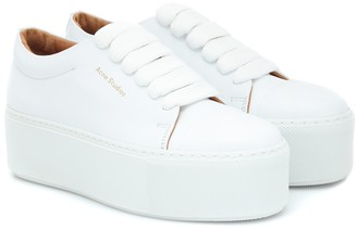 Acne Studios Drihanna platform leather sneakers