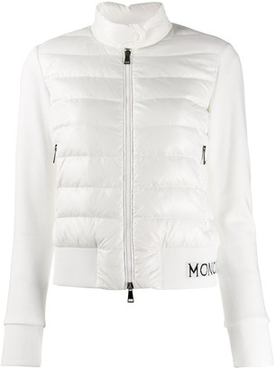 Moncler padded panels jacket