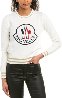 Moncler Wool & Cashmere-Blend Sweater