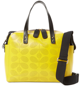 Orla Kiely Sixties Stem Punched Caraway Tote