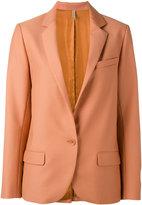 Indress - notched lapel blazer - women - Cupro/Wool - 1
