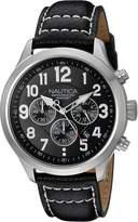 Nautica Men's NAD14516G NCC 01 CHRONO Analog Display Quartz Watch