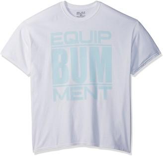 Equipment Bum Men's Wrap Text T-Shirt