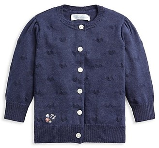 Ralph Lauren Baby Girl's Knit Cardigan