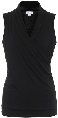Velvet Adelise stretch-cotton jersey top