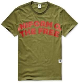G Star Raw Men's Uniform Of The Free Graphic T-Shirt