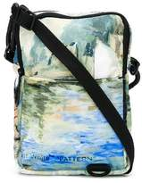 Off-White lake painting messenger bag