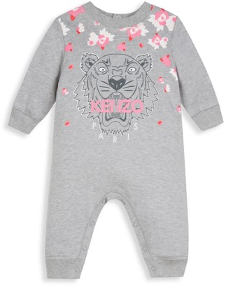 Kenzo Baby's & Little Girl's Tiger & Flowers Jumpsuit