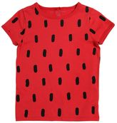 Stella McCartney Watermelon Print Cotton Jersey T-Shirt