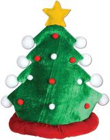 Green Plush Christmas Tree Hat