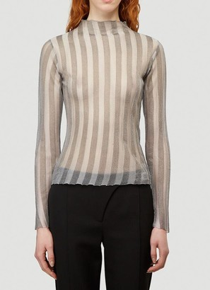 Alyx Striped Sheer Top
