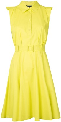 Paule Ka Sleeveless Shirt Dress