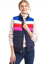 Gap ColdControl Max colorblock puffer vest