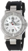 REACTOR Midsize 77802 Critical Mass Silver Dial and Rubber Strap Watch