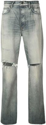 Amiri Thrasher slash knee jeans